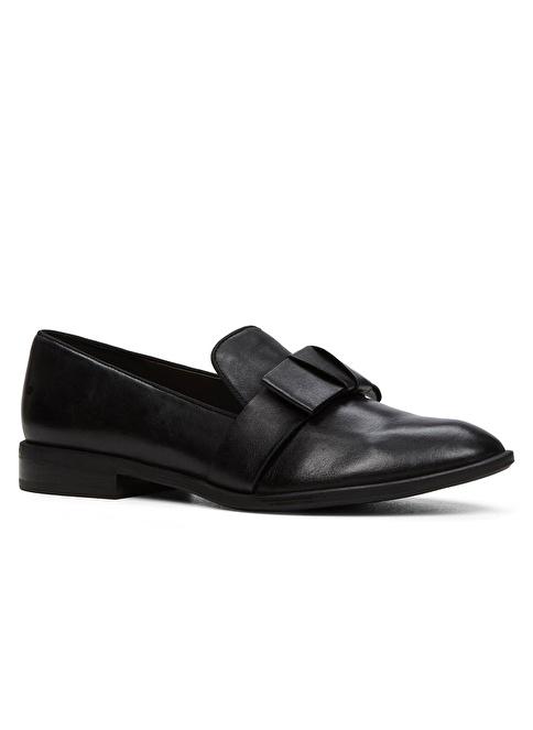Aldo Fiyonk Detaylı Deri Loafer Ayakkabı Siyah